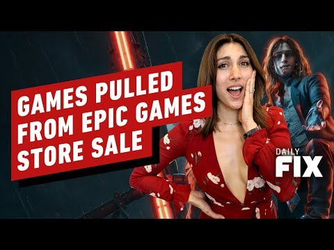 Games Are Pulling Out of the Epic Games Store Sale - IGN Daily Fix - UCKy1dAqELo0zrOtPkf0eTMw