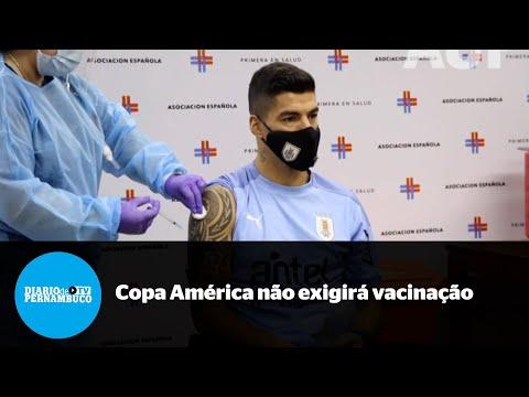 Copa América: vacina não será obrigatória para atletas participantes