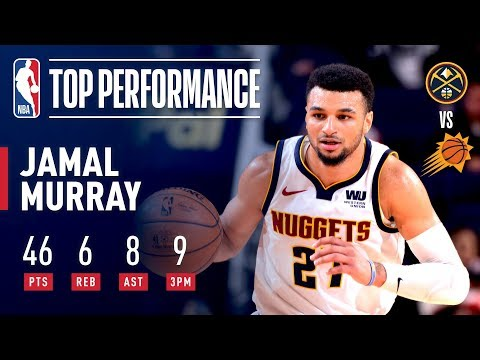 Jamal Murray Goes Off For 46 Points In Phoenix! | December 29, 2018