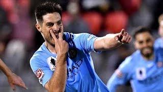 Gol de Bruno Fornaroli - Melbourne City 1 - 0 Brisbane Roar