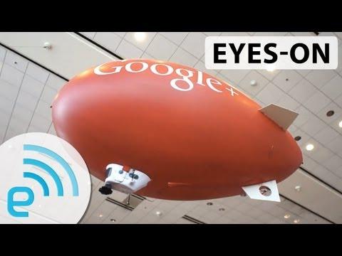 Google AirShow streams I/O live from several RC blimps | Engadget at Google I/O 2013 - UC-6OW5aJYBFM33zXQlBKPNA