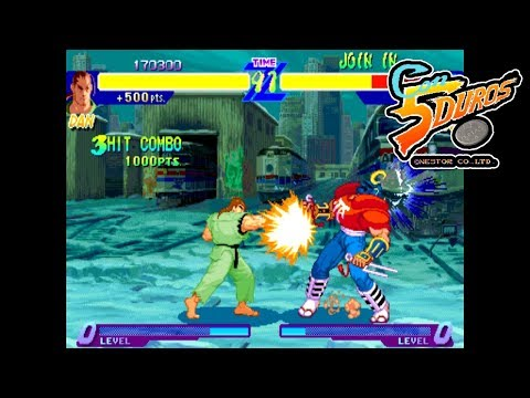 "[BIS] STREET FIGHTER ALPHA: WARRIORS' DREAMS (DAN) - ""CON 5 DUROS"" Episodio 85 (1cc) (CTR)"