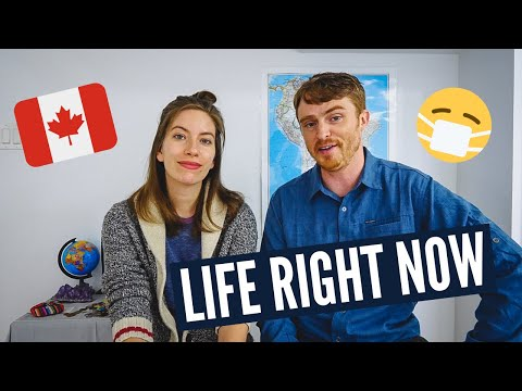 Our LIFE IN CANADA at Home During QUARANTINE | We're NOT Travelling Right Now ???