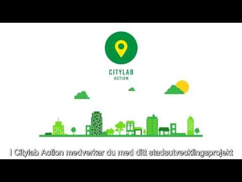 Introduktion till Citylab - textad