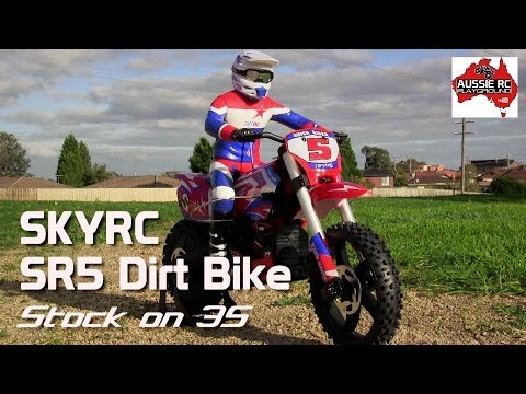 Super Rider Sr4 Rc Dirt Bike Maiden Ride Review