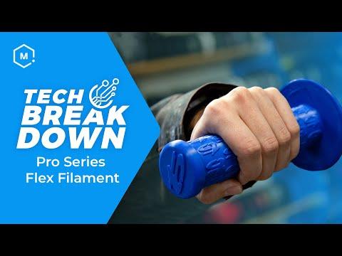 Introducing MatterHackers PRO Series Flex 3D Filament // Product Review