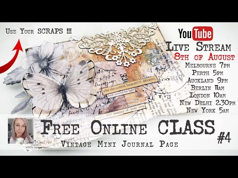 Free Online Class from Maremi ~ Mini Journal Page ~ #4