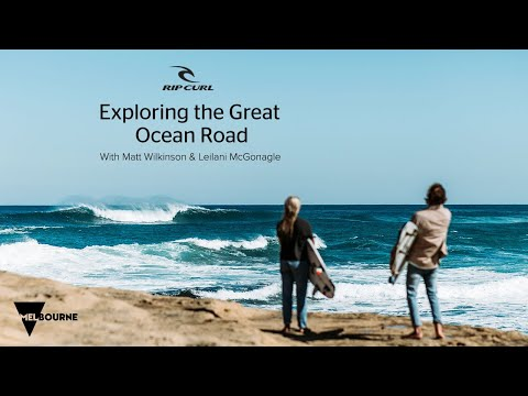 Matt Wilkinson and Leilani McGonagle Explore the Great Ocean Road