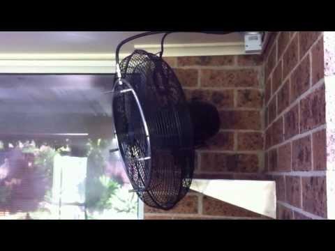 Misting fan cooling patio MISTECH high pressure misting system - UCaKfNdXNsL7O0yT8x__9yvg