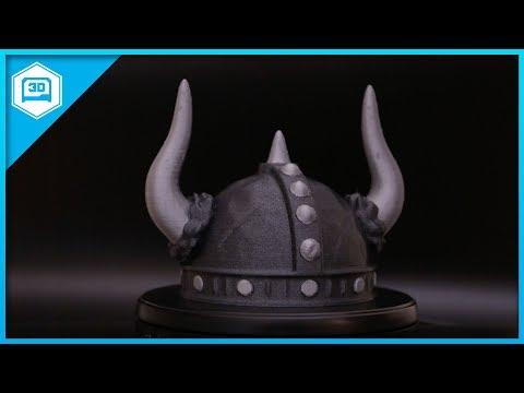 Helm of Glencairn - Viking Helmet Timelapse #3dprinting @adafruit #adafruit