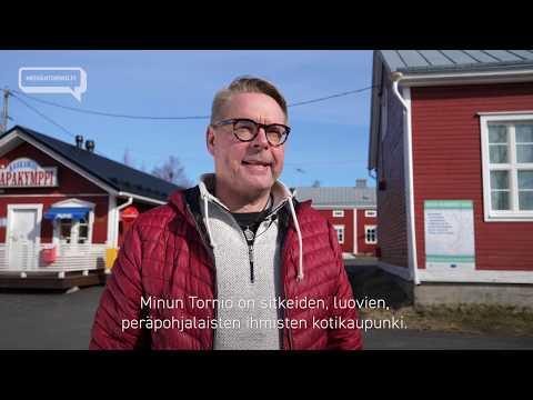 Tuottaja-juontaja, viihdepersoona Jari Vesa kertoo, mitä Tornio on ja mitä…