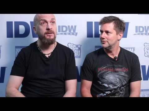 IDW Creators - Chris Ryall and David Messina