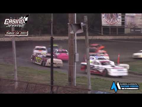 Casino Speedway WISSOTA Street Stock A-Main (8/1/21) - dirt track racing video image