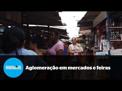 População lota as ruas de Cavaleiro, Jaboatão dos Guararapes