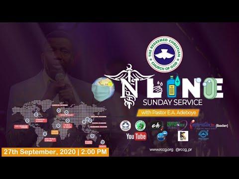 RCCG SEPTEMBER 27th 2020  PASTOR E.A ADEBOYE SPECIAL SERVICE