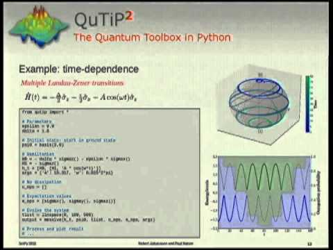 Image from QuTiP: An open-source Python framework for the dynamics of open quantum systems