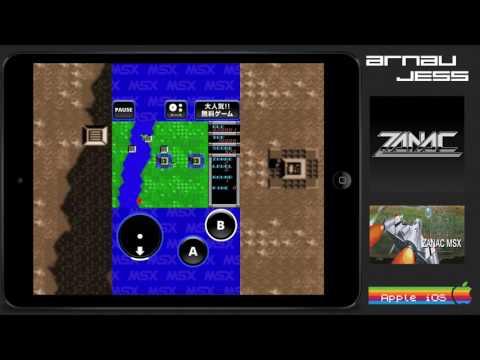 ZANAC Msx IOS by D4Enterprise