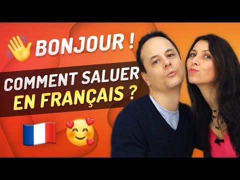 Bonjour en Français: Expressions pour Saluer et Dire Au Revoir 👋