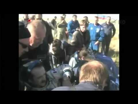 Chris Hadfield Returns to Earth - UCdNtqpHlU1pCaVy2wlzxHKQ