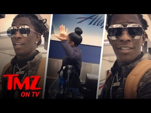 Young Thug Goes Off, Calling Airline Staff 'Nappy Peasants' | TMZ TV