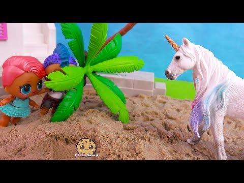 Unicorn At Summer Beach House ! LOL Surprise Part 5 - UCKy1dAqELo0zrOtPkf0eTMw