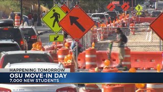Ohio State students set to move in Saturday, cause major traffic delays near campus