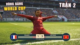 PES 19 | FIFA WORLDCUP | VÒNG BẢNG TRẬN 2 | VIETNAM vs FRANCE - Giấc mơ Bóng Đá VIỆT NAM