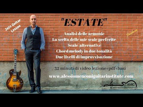 Estate    Alessio Menconi Jazz Guitar Lessons