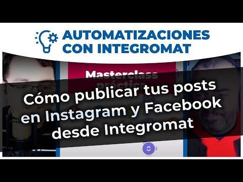 Automatizaciones - Cómo publicar tus posts de WordPress en Instagram o Facebook con Integromat