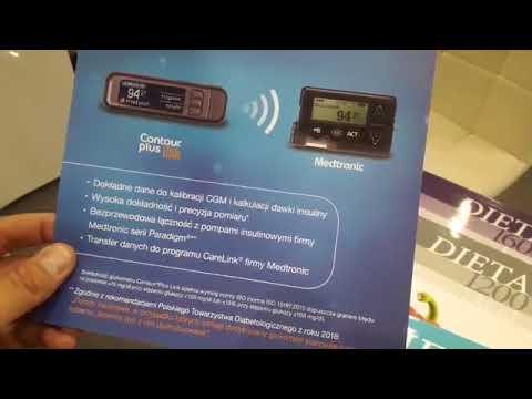 Zaktualizowana aplikacja Contour Diabetes - Contour Plus One XIX Zjazd PTD