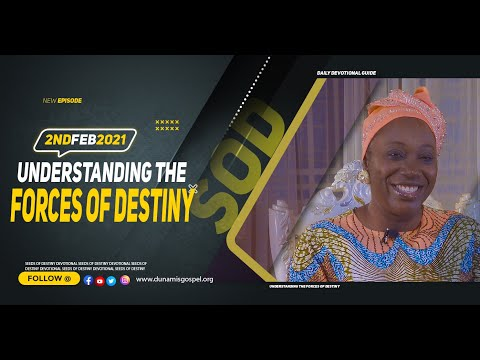 Dr Becky Paul-Enenche - SEEDS OF DESTINY - TUESDAY FEBRUARY 2, 2021