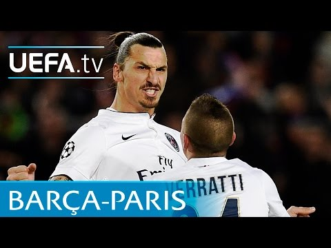 Barcelona v Paris Saint-Germain UEFA Champions League highlights