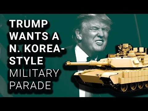 Trump Planning Massive Military Parade with Tanks & Weapons