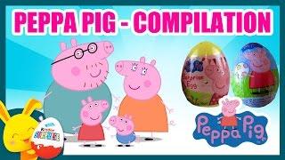 PEPPA PIG - Compilation JOUETS - Oeufs surprises - Poupées gigognes - Pâte à modeler