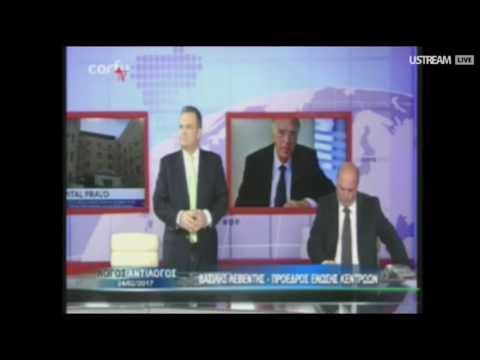 Β. Λεβέντης / Λόγος - Αντίλογος, CorfuTV / 24-2-2017