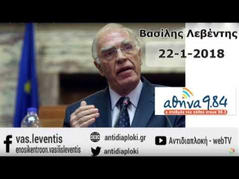 Β.Λεβέντης/Συλλαλητήριο Θεσσαλονίκης/22-1-2018