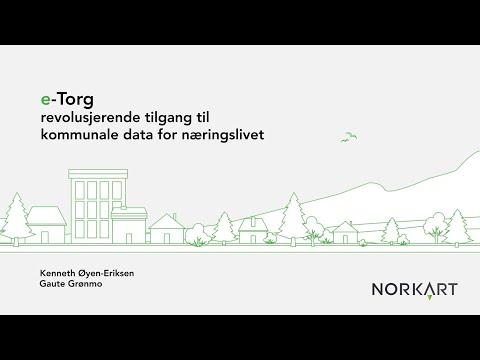 e-Torg - gir enkel tilgang til kommunale data