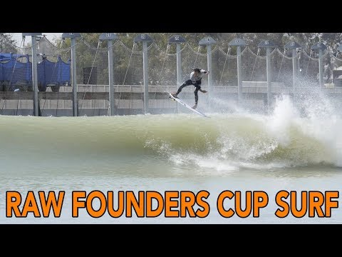 RAW Surfing from WSL Surf Ranch