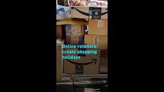 Online retailers create shopping holidays