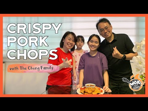 CRISPY PORK CHOPS with Ps. Sharon & Daughters  WOK FROM HOME  Cornerstone Stay Home Series  EP.4