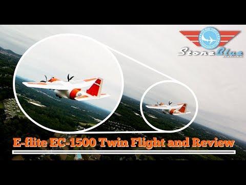E-Flite EC 1500 Maiden Flight & Follow Footage - UC0H-9wURcnrrjrlHfp5jQYA