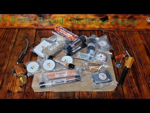 Black and White Fire Starter Kits