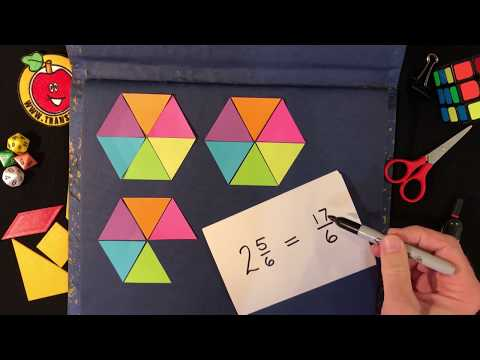 Improper Fractions Level 1 video