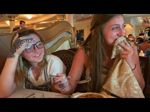 Kamri Ate a SNAIL?? | Disney Cruise