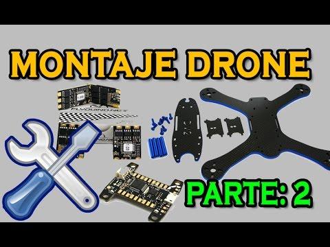 Como montar Drone de carreras #2: Part.2/2 Montaje DARC 210Pro v2 con KISS FC + KISS ESC - UC_YKJQf3ssj-WUTuclJpTiQ