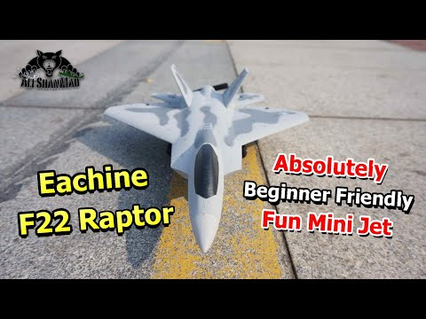 Eachine Mini F22 Raptor RC Jet best beginners Park Flyer RC Airplane - UCsFctXdFnbeoKpLefdEloEQ