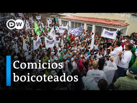 Cierre de campaña en Venezuela