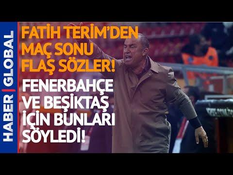 Fatih Terim'den Beşiktaş Zaferi Sonrası Flaş Açıklama!