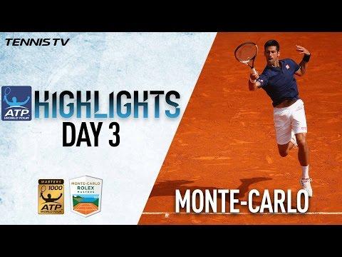Monte-Carlo Highlights: Djokovic, Haas Advance On Day 3