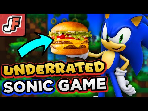 Why This SONIC GAME Is UNDERRATED Like This CHEESEBURGER!